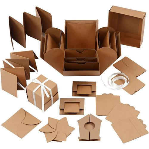 KIT EXPLOSION BOX, KRAFT