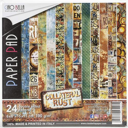 KIT DE PAPELES COLLATERAL RUST A5