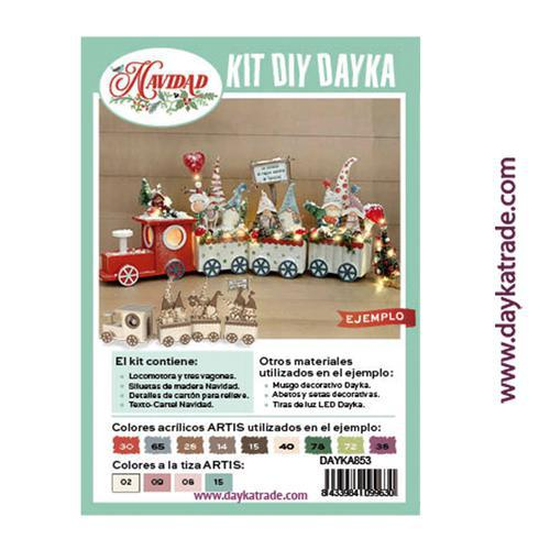 KIT DIY DAYKA TREN CON GNOMOS