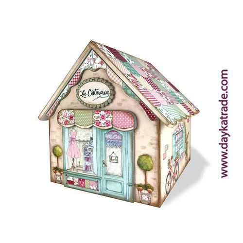 Casita Costurero Patchwork Dayka