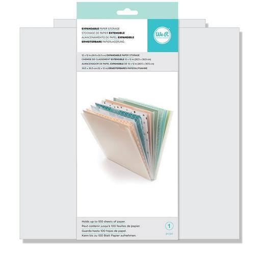 Expandable Paper Storage