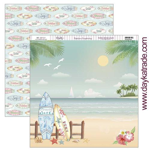 PAPEL SCRAP DAYKA SCP-317 FIESTA TROPICAL