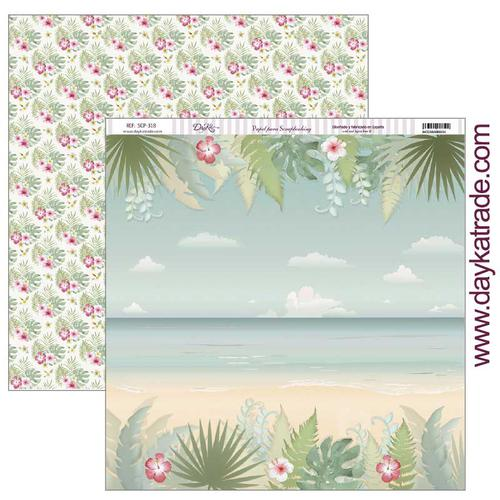 PAPEL SCRAP DAYKA SCP-318 FIESTA TROPICAL