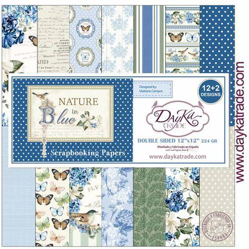 KIT SCRAP 2020 NATURE IN BLUE