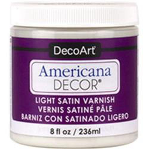 AMERICANA DECOR BARNIZ LIGHT SATIN 236cc· ADM-05