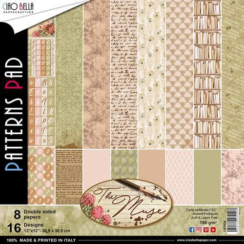 KIT DE PAPELES CIAO BELLA 30,5X30,5 THE MUSE 8 PAPELES