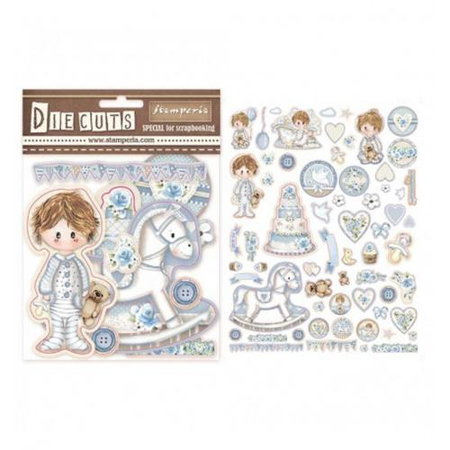 DIE CUTS LITTLE BOY STAMPERIA