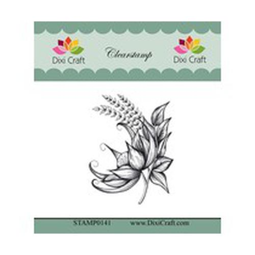 Dixi Craft Botanical Collection 7 sello transparente (STAMP0141)