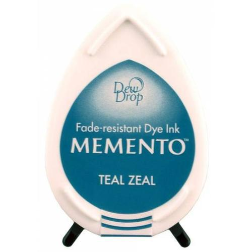 TINTA PERMANENTE MD-602 MEMENTO DEW DROP 12GR. TEAL ZEAL