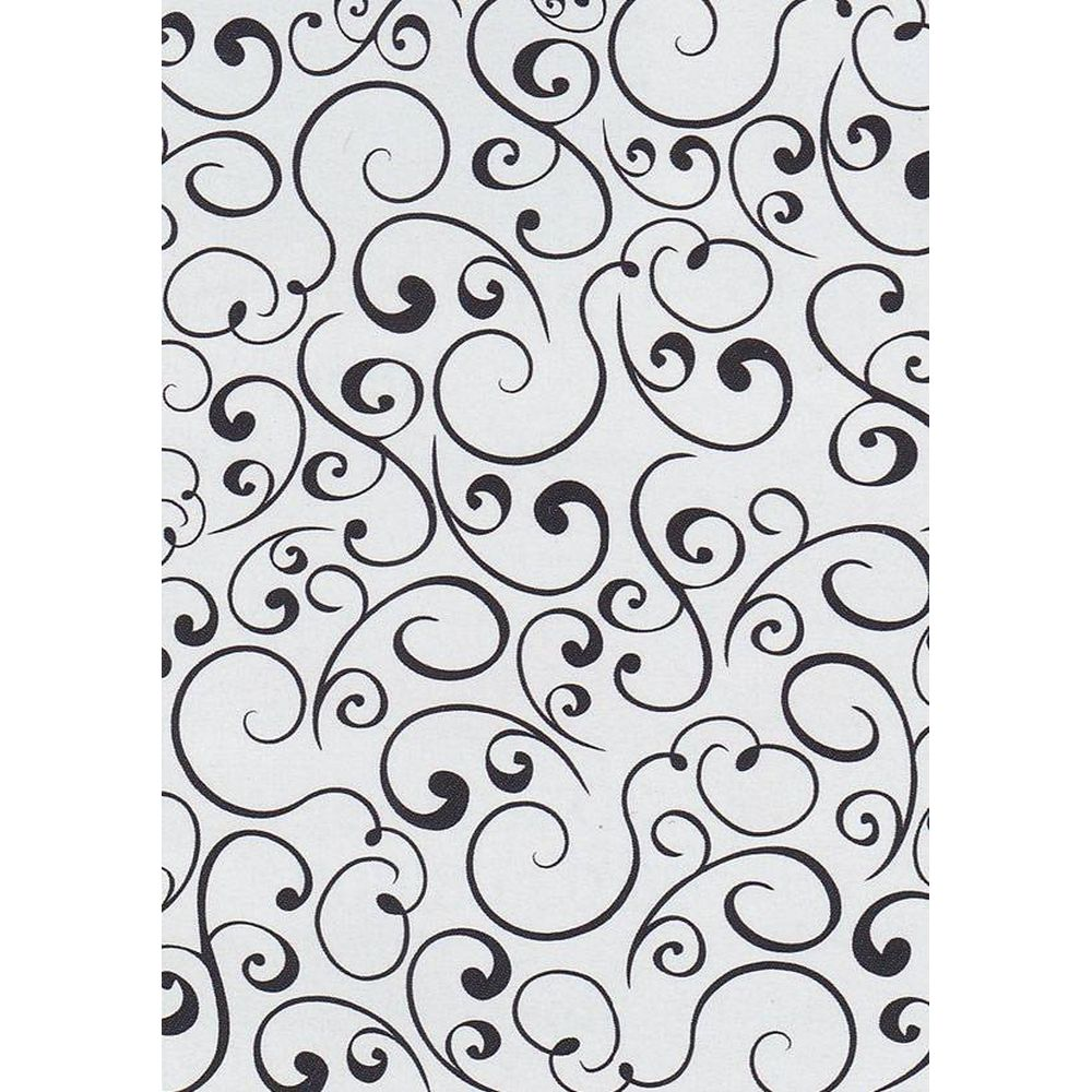 HSF009 CARPETA EMBOSSING ''SWIRLS''