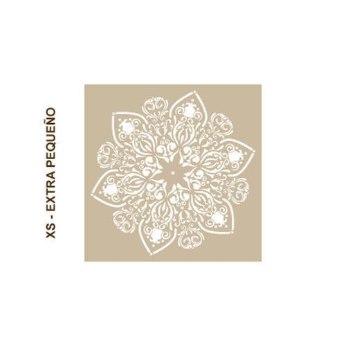 Stencil Home Decor Rosetón 009 Mandala